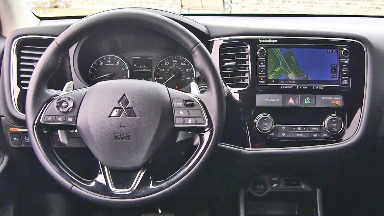 2016 mitsubishi outlander interior youtube - 2016 Mitsubishi Outlander Interior