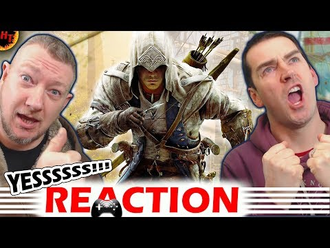 FIRST LOOK ! Assassin's Creed 3 Remastered ''ANNOUNCE'' Trailer REACTION