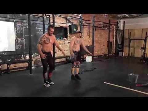 Виктор Блуд и Дмитрий Медведь - Совместная Тренировка