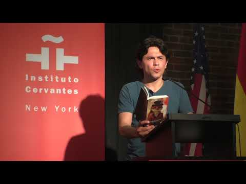 Fredy Yessed en The Americas Poetry Festival_Instituto Cervantes de NY