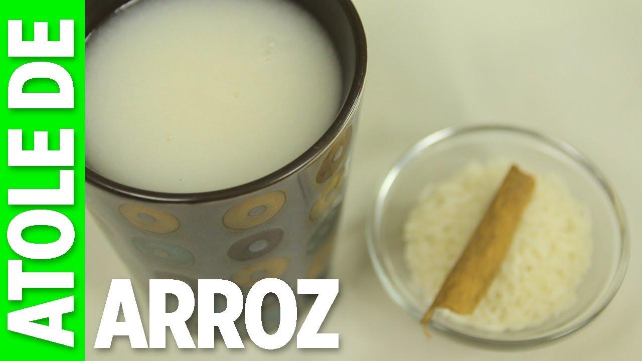 como se hace el agua de horchata con harina de arroz
