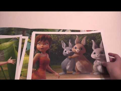 Tinker Bell And The Legend Of The Neverbeast Disney Store Exclusive Lithograph Set Review!