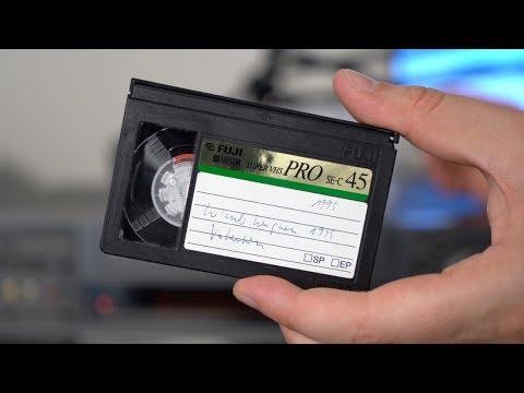Alte videokassetten digitalisieren