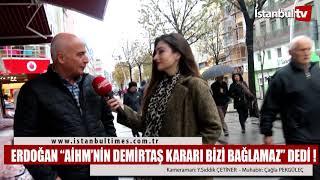 Erdoğan: ''AİHM'in Demirtaş Kararı Bizi Bağlamaz'' dedi!