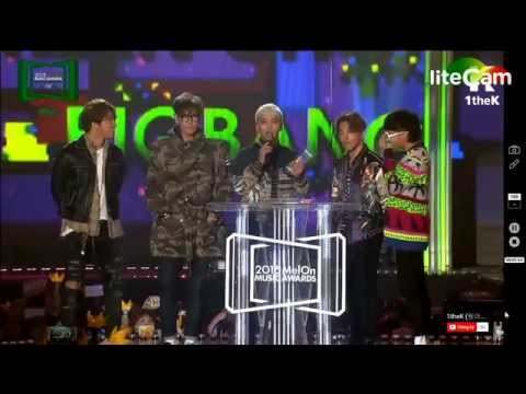 MMA 2015 - BIG BANG - Netizen Popularity Award
