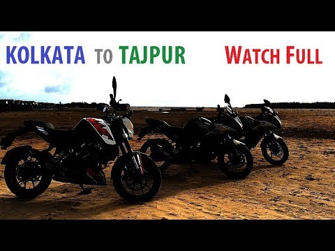 Ride to Tajpur - Rainy Roads & Cloudy Beach - Motorcycles Stories