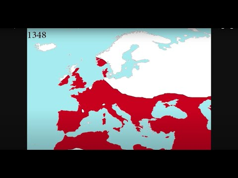 The Spread of the Black Death in Europe