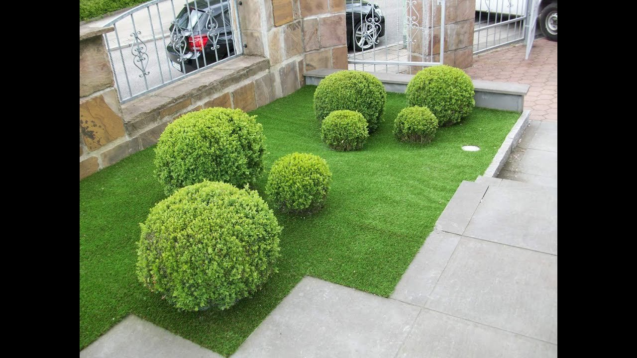 Front garden ideas youtube for Front garden design