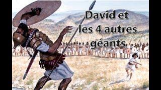 David contre Goliath et contre les autres géants