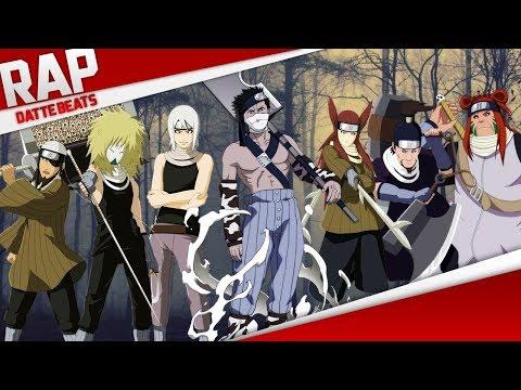 Rap dos 7 espadachins da névoa (Naruto) | DatteBeats Conjunto 06