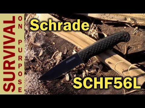 Schrade SCHF56L Bushcraft Knife Review – Tale of the Broken Blade