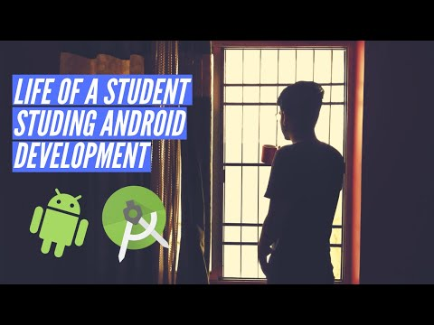 DAY IN LIFE OF STUDENT || ANDROID DEVELOPER