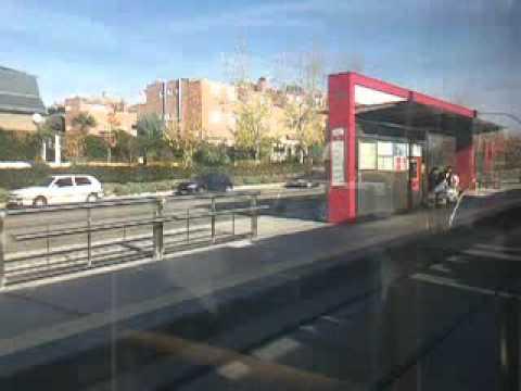 paseo en tren metro ligero 3 colonia jard n boadilla del