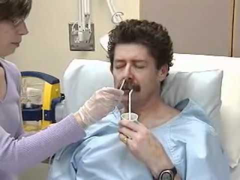 Nasogastric tube youtube for Chambre urinaire