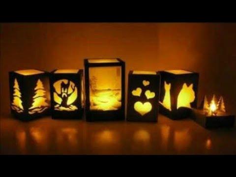 DIY • Easy Lamp •  Handmade Lamp • Lamp by waste Material • Night Lamp For Bedroom