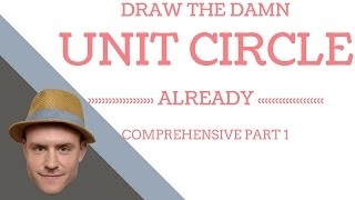 How to draw the damn unit circle PART 1