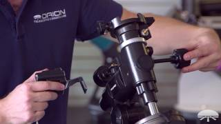 How to Set Up the Orion AstroView EQ Mount & EQ-3M Motor Drive Kit - Orion Telescopes