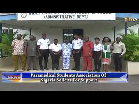 Paramedical Students Association of Nigeria solicits for support