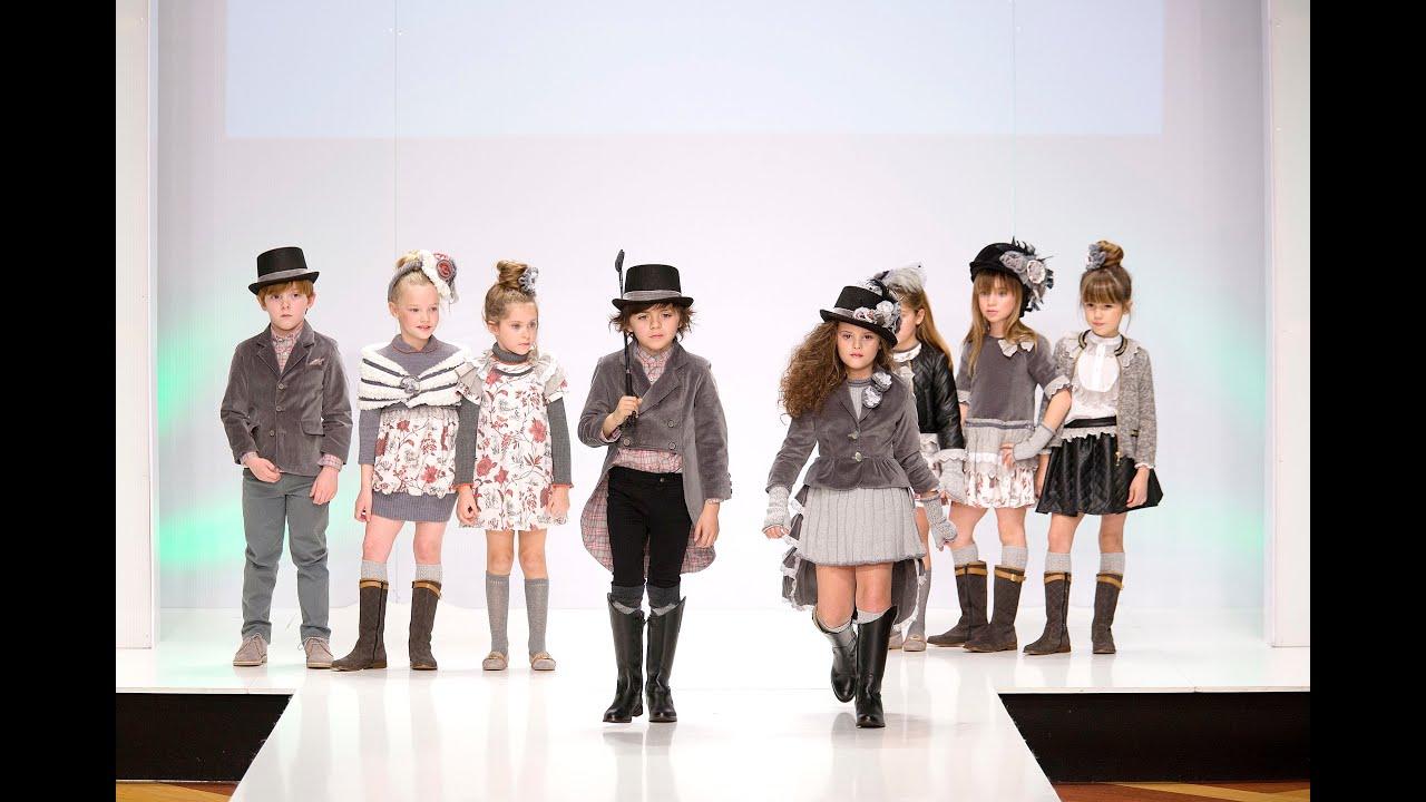 desfile de moda infantil 2017