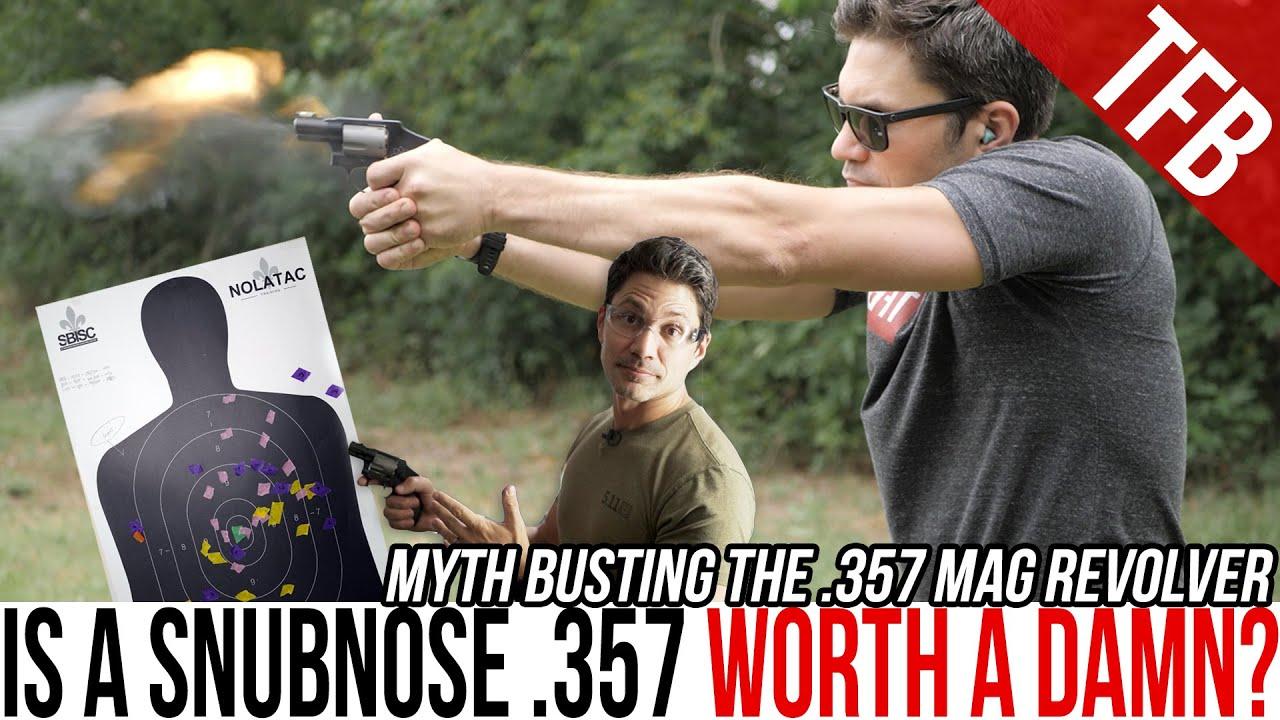 Is the .357 Magnum Snubnose Revolver a Bad Idea?