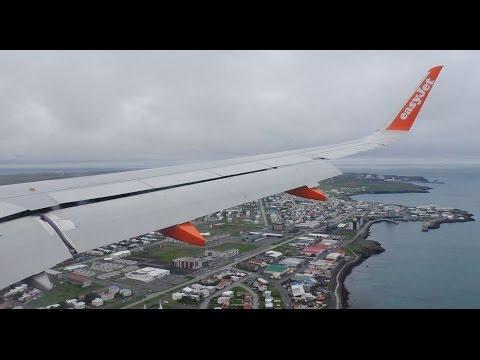 Easyjet A320 Edinburgh to Keflavik *Full Flight*