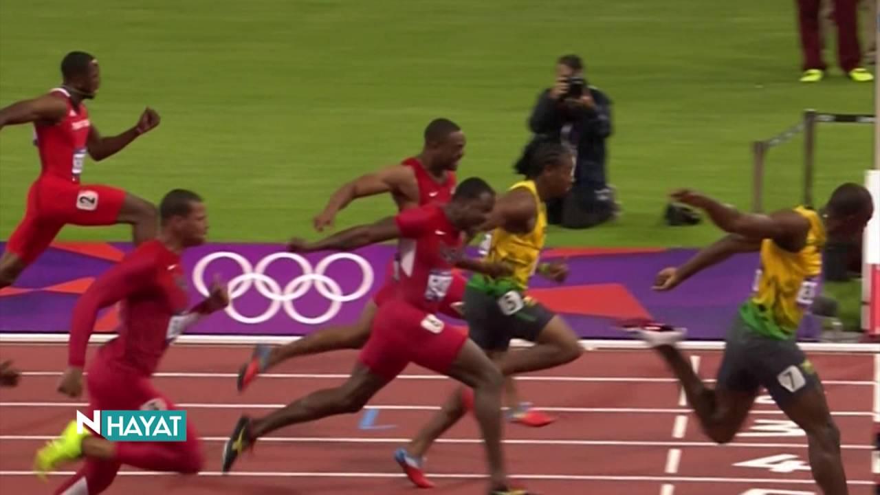 Usain Bolt. Maksimum koşucu hızı
