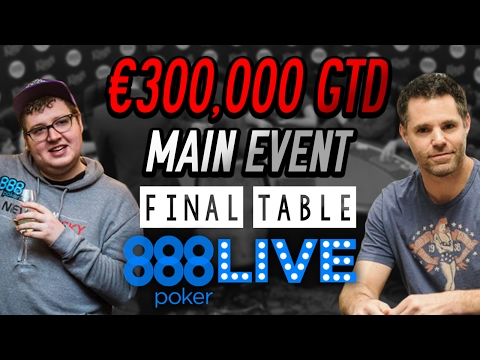 FINAL TABLE: €888 MAIN EVENT at 888live King's Casino Rozvadov