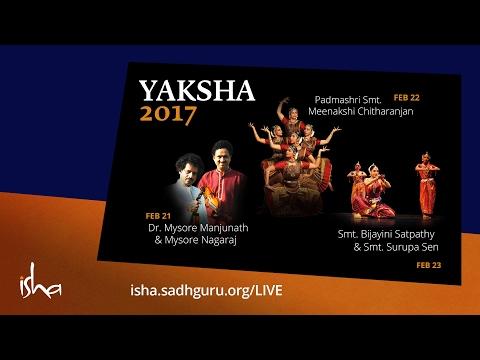 Yaksha 2017 - 21 Feb. - Dr. Mysore Manjunath & Mysore Nagaraj