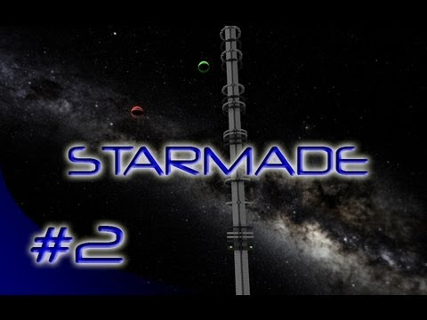 Vaal Plays STARMADE - Episode 02 - Ice Crystals & Pirate Stations