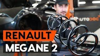 Cómo cambiar Muelle de chasis RENAULT MEGANE II Saloon (LM0/1_) - vídeo gratis en línea