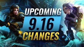 MASSIVE CHANGES: New buffs and reworks coming in Patch 9.16 - League of Legends