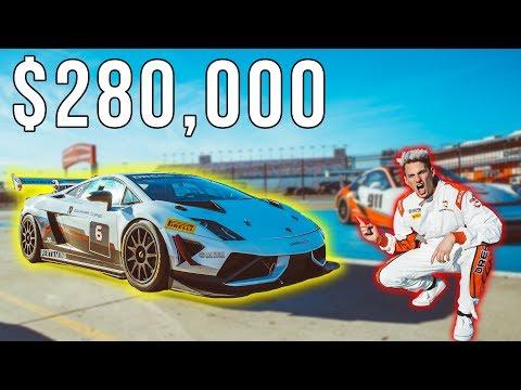 Racing a $280,000 Lamborghini Gallardo GT Super Car! *200 mph*