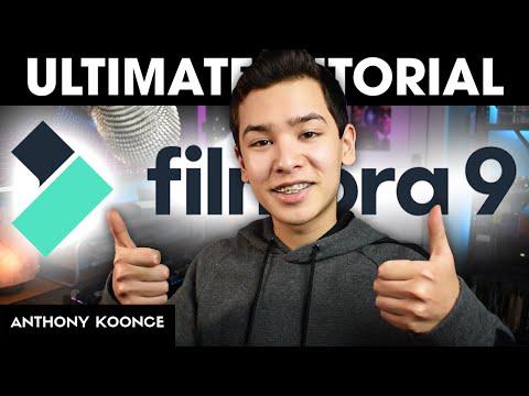 How To Use Filmora 9: Beginner's Guide 2020