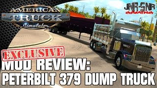 ATS MODS | Peterbilt 379 Tipper | AMERICAN TRUCK SIMULATOR MOD REVIEW | ATS MOD REVIEW