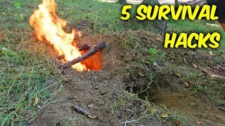 5 Amazing Survival Hacks