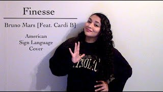 Finesse Bruno Mars Feat. Cardi B ASL Cover.mp3