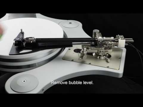 Klaudio Tangential Tonearm Installation