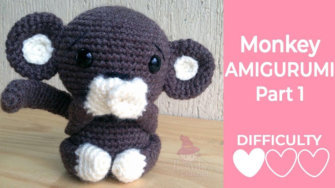 Naughty monkey amigurumi pattern - Amigurumi Today | 720x1280