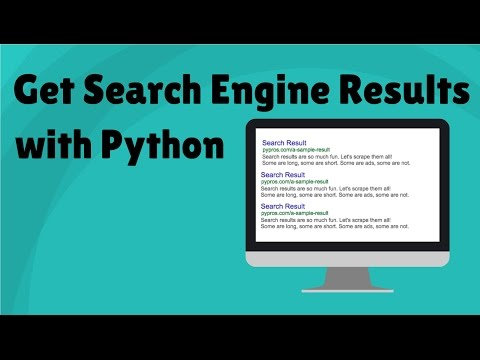 Get Search Engine Results with Python