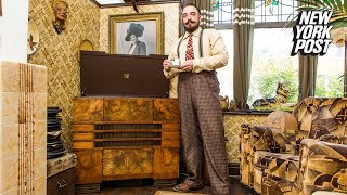 British Bloke Remodels Home into a Vintage 1930s House | New York Post