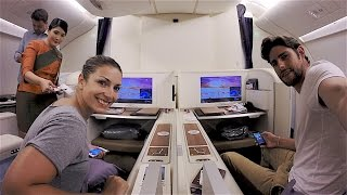 Repeat youtube video HOW TO FLY BUSINESS CLASS CHEAP