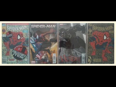 Comic Book Haul #22 (eBay and local purchase) Variants and Minor Key???