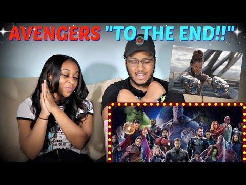 """Marvel Studios' Avengers: Endgame """"To the End"""" REACTION!!!"""