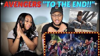 "Marvel Studios' Avengers: Endgame ""To the End"" REACTION!!!"