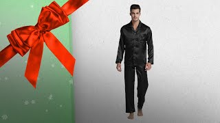 Top 10 Silk Pajamas For Men Gift Ideas / Countdown To Christmas 2018! | Christmas Gift Guide
