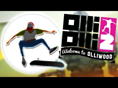 CHECK OUT THESE SICK TRICKS | OlliOlli 2 Welcome To Olliwood #1