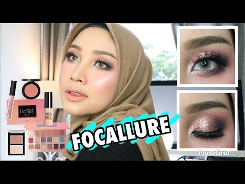 FOCALLURE ONE BRAND MAKE UP TUTORIAL AND REVIEW | IRNA DEWI