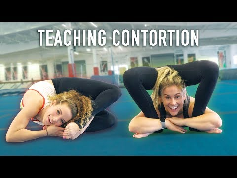 Teaching an Olympian Contortion (ft. Shawn Johnson)