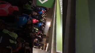 Embrouille pendant le match STRASBOURG - MARSEILLE