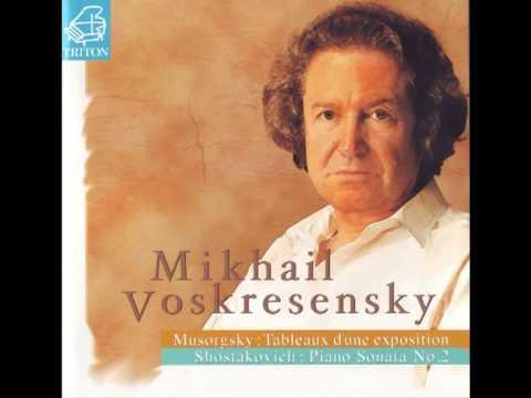 Mikhail Voskresensky - Mussorgsky Tableaux d'une exposition